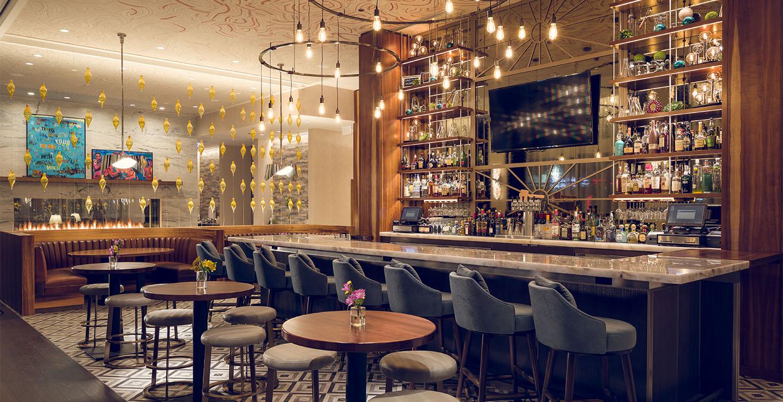 Hyde Park restaurant Mesler - interior