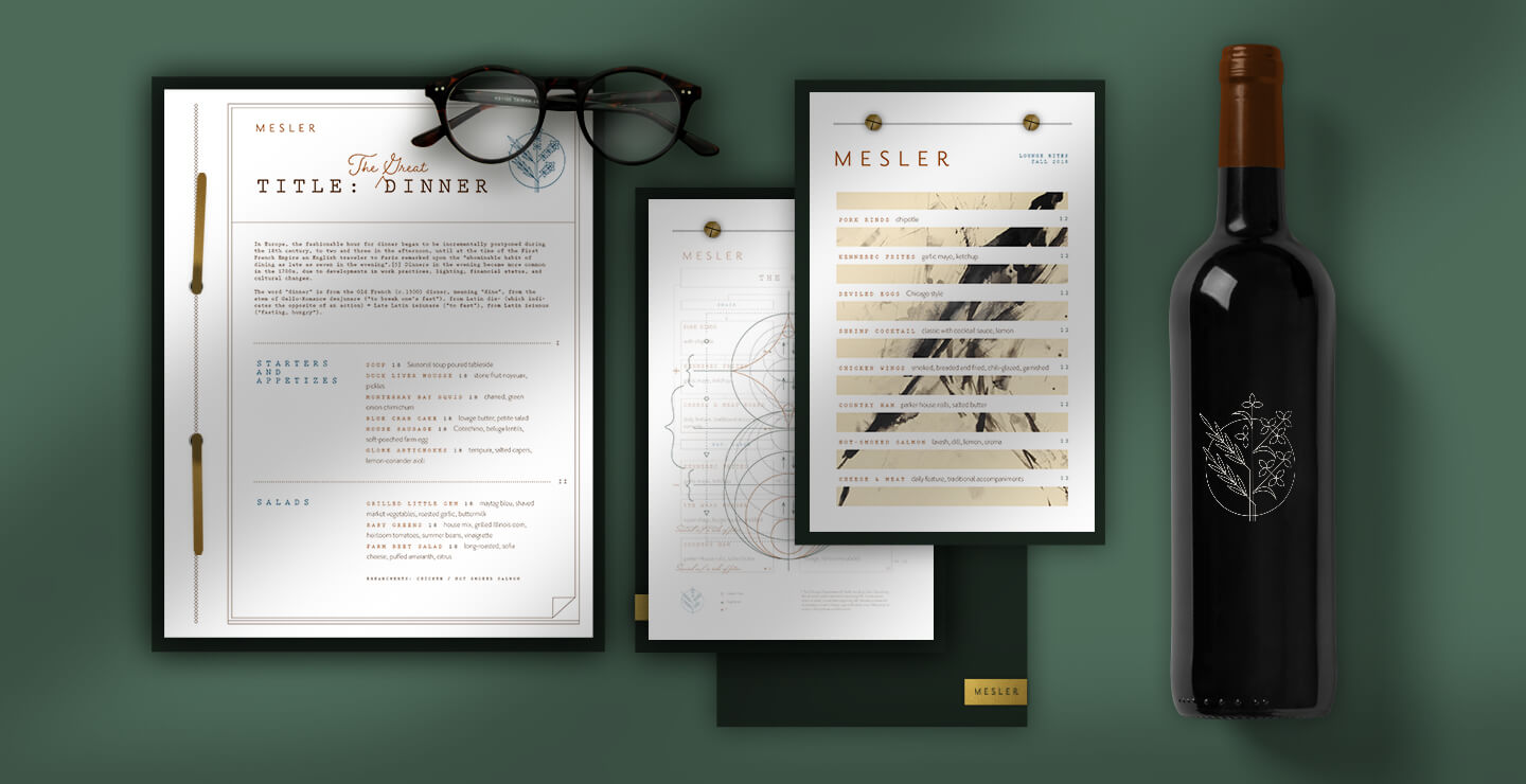 Mesler printed collateral