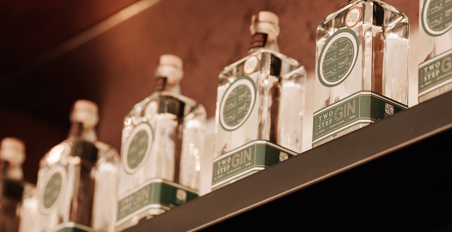 The Last Pantry gin bottles