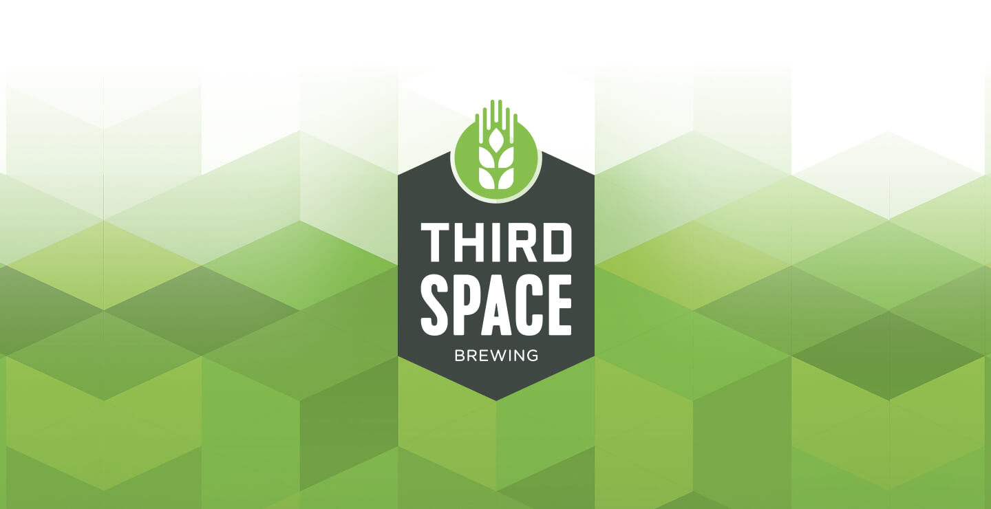 Third Space Brewing logo design by B&Co.