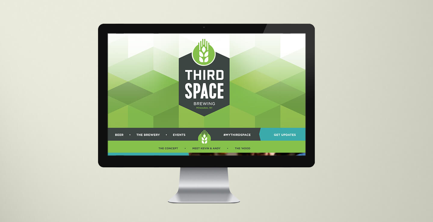 Third Space Brewing website home page