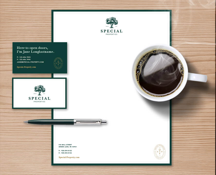 Special Properties Print Collateral